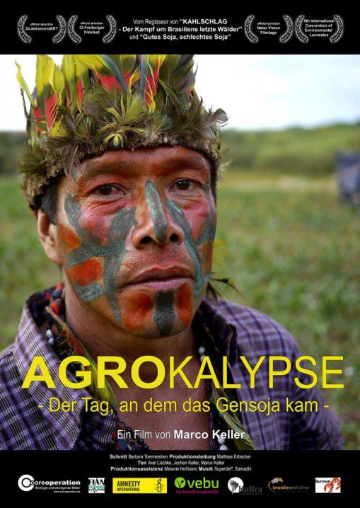 AGRARpokalypse Flyer DIN A6 für Druck und Werbung